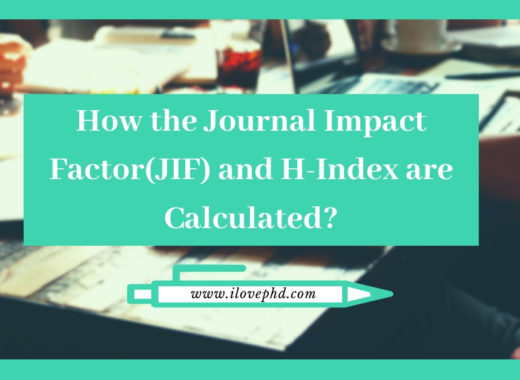 How the Journal Impact Factor(JIF) and H-Index are Calculated
