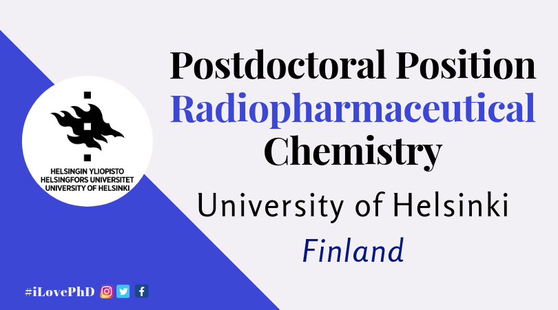 Postdoctoral Position- Radiopharmaceutical Chemistry-University of