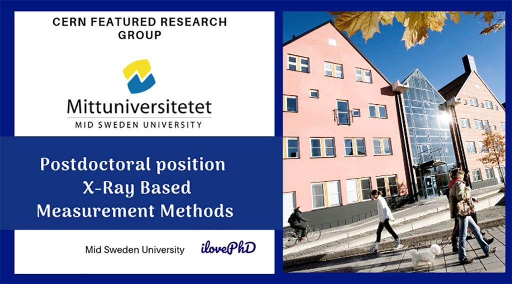 Call for Postdoctoral position -X-Ray Based Measurement Methods-Mid