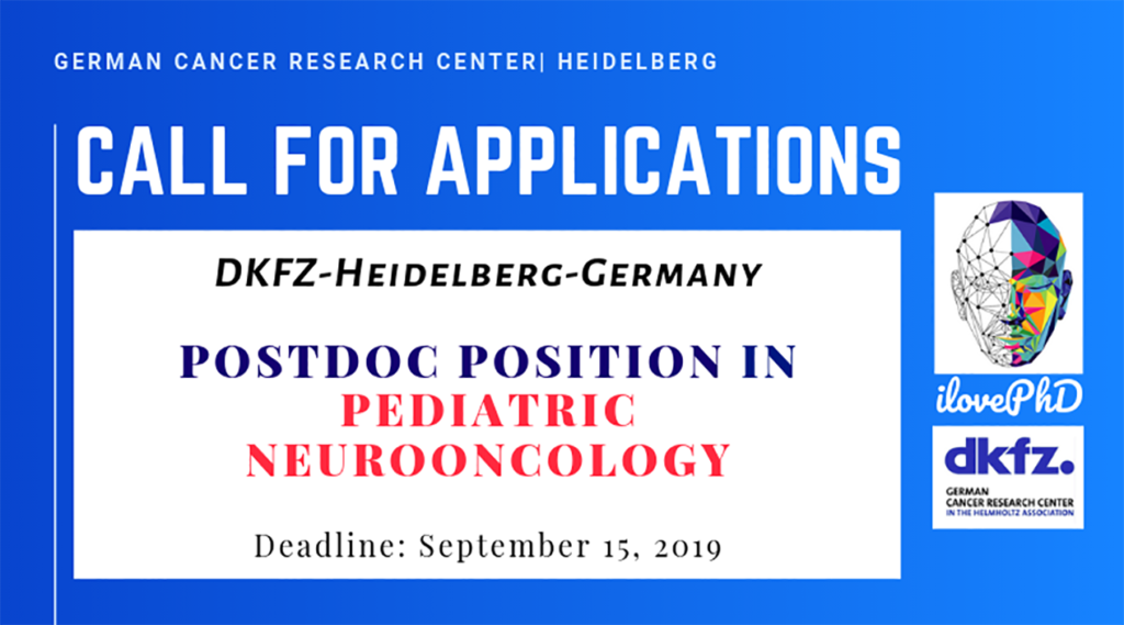 Postdoc Position in Pediatric Neurooncology-DKFZ-Germany | iLovePhD